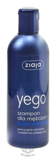 ZIAJA Yego Anti-Schuppenshampoo für Männer 300ml