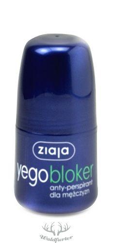 ZIAJA Yego Blocker Antitranspirant für Männer Roll On 60ml