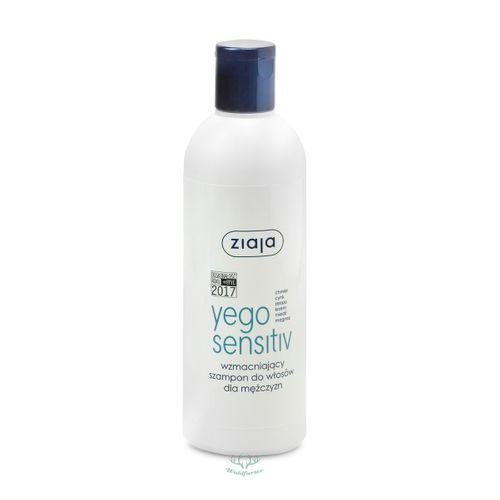 ZIAJA Yego Sensitiv Stärkendes Shampoo für Männer 300ml