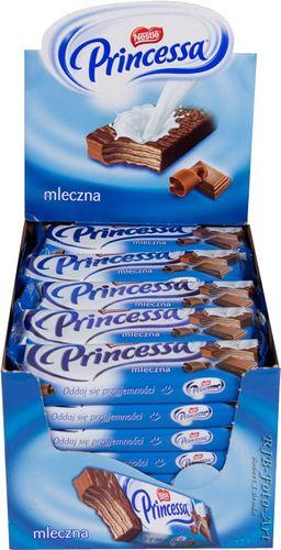 Nestle Princessa Milchgeschmack (PAK 35x37g) 0,35EUR / Stück