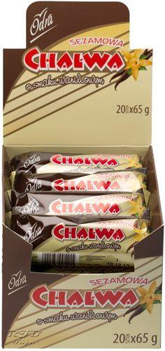 Chalwa (Sesammasse-Riegel) Vanille (PAK20x65g)