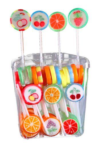 Astra Polnische Lutscher mit Fruchtgeschmack 100 Stück  á 10g (Paket)