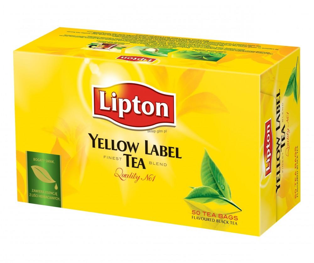 Lipton Schwarzer Tee - 50 Beutel