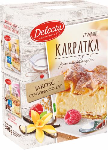 Delecta Karpatka 390g Kuchen