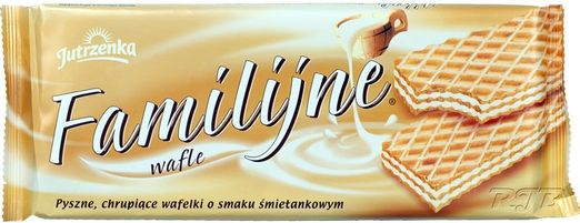 Jutrzenka - Waffel mit Sahnegeschmack