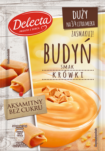Delecta Pudding Karamell 64g
