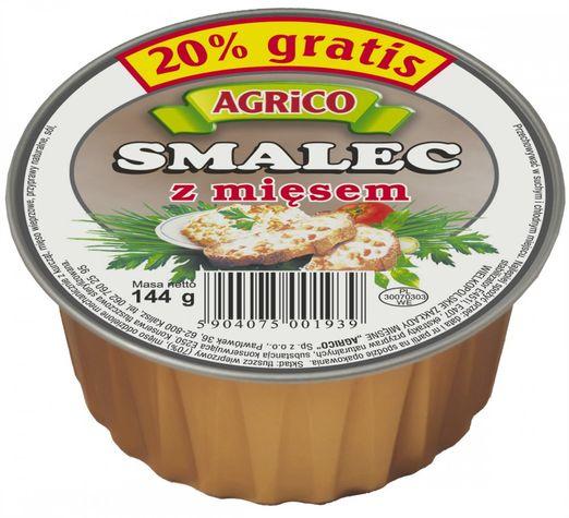 Agrico Schmalz mit Fleisch 144g