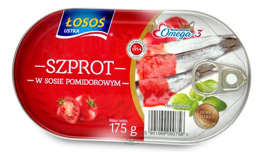 Sprotten in Tomatensoße