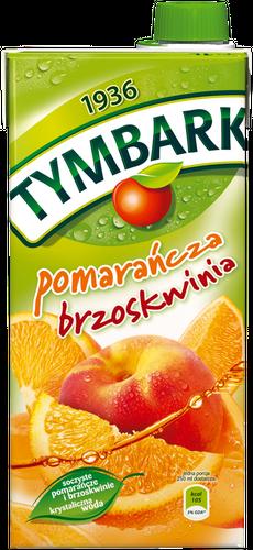 Tymbark Fruchtgetränk Orange-Aprikose 1L