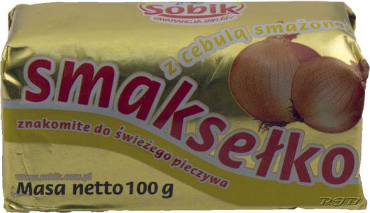 Polnischer Brottaufstrich mit Butter und Zwiebeln