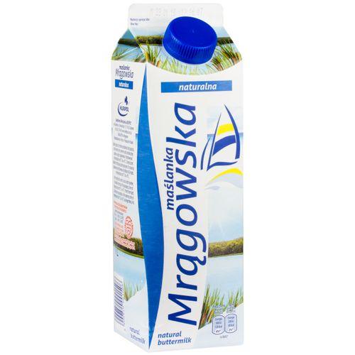 Mlekpol Buttermilch Mragowska 1L