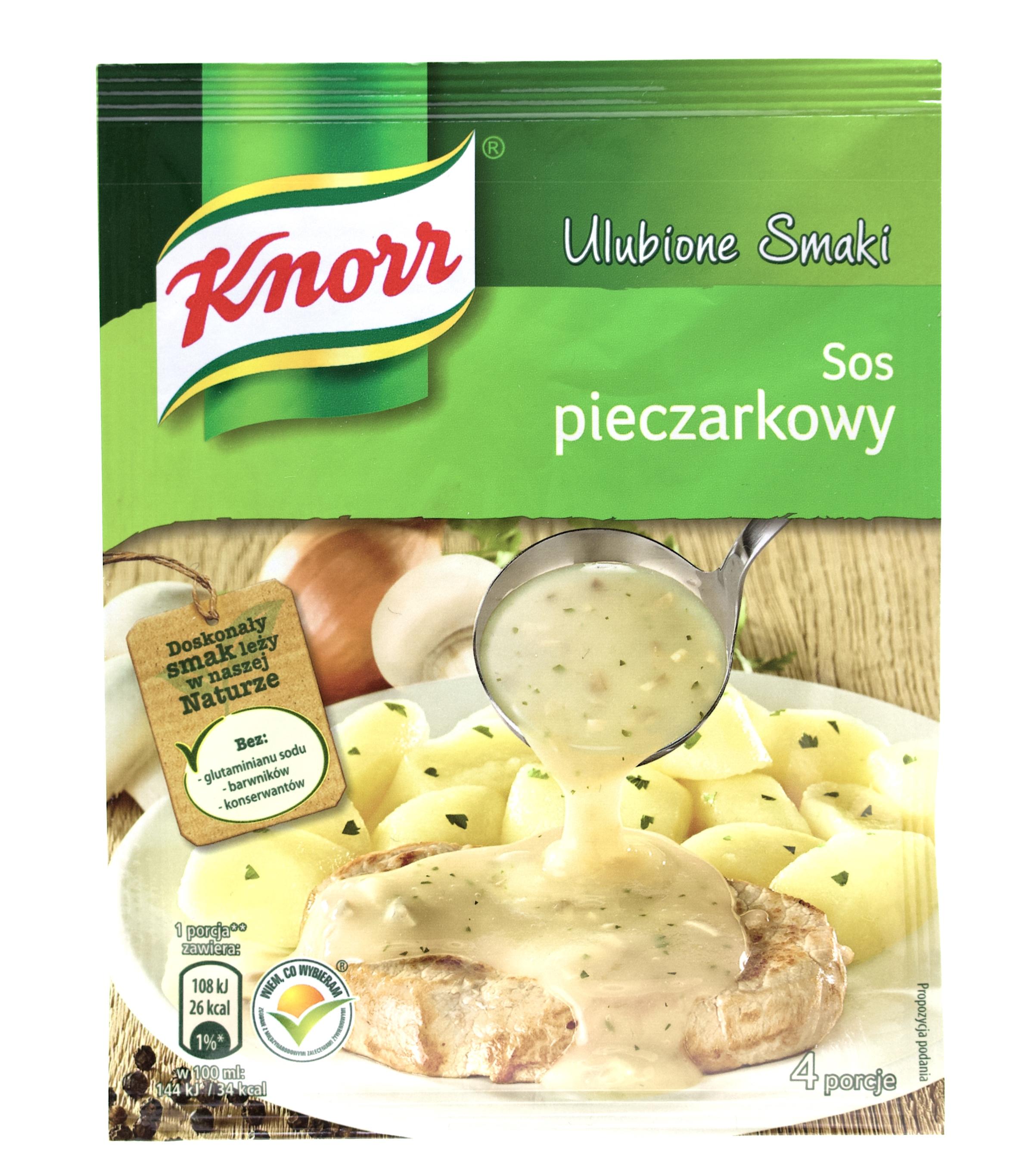 Knorr Champignonsauce - Polnische Lebensmittel bei Waldfurter