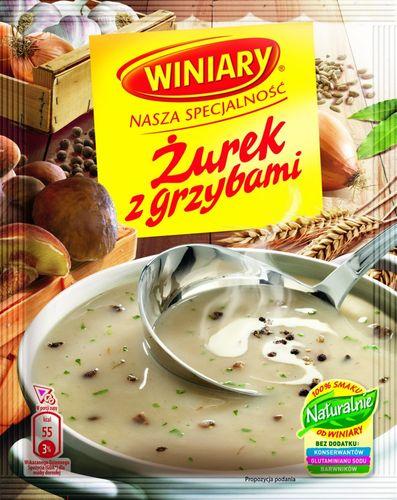 Winiary - Zurek mit Pilzen