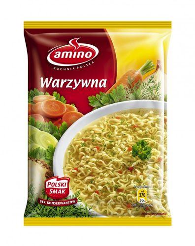 Amino Gemüsesuppe mit Nudeln 58g