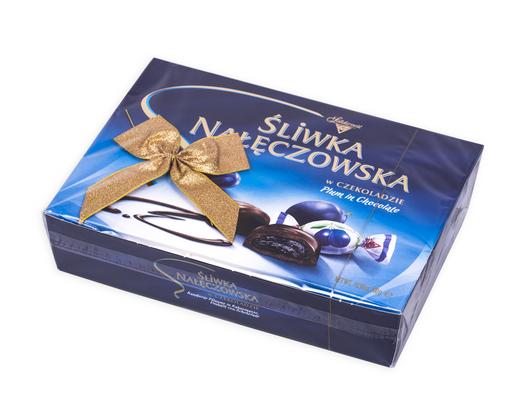 Solidarnosc Pflaumen in Schokolade