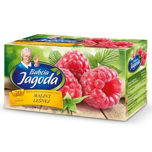 Mokate Babcia Jagoda Tee mit Wald-Himbeergeschmack 40g