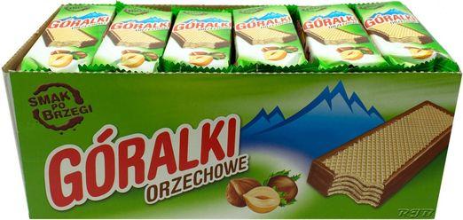 Góralki Nusswaffel (Pack 36 Stück)