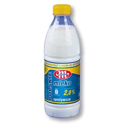 Mlekovita Milch 2,0% - Pasteurisiert 1L