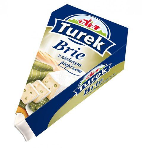 Turek Brie mit grünem Pfeffer 125g