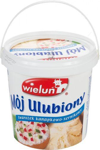 Wielun Polnischer Schichtkäse für Kuchenzubereitung 1kg