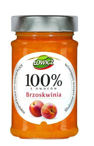 Lowicz Pfirsichkonfitüre Extra aus 100% Frucht