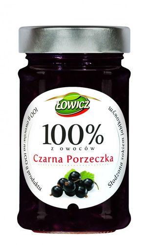 Lowicz Johannisbeerkonfitüre Extra aus 100% Frucht 220g