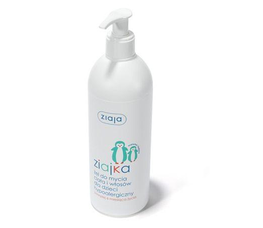 Antiallergische Waschlotion für Kinder für Körper und Haare 400ML von Ziaja