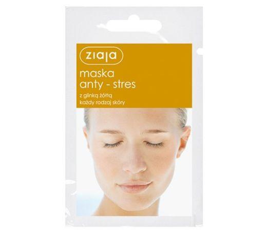 Gesichtsmaske anti Stress mit Gelbton 7ML von Ziaja