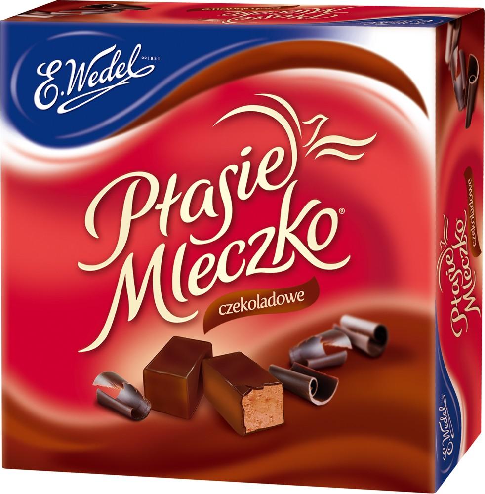 E.Wedel Ptasie Mleczko - Pralinen - Schokogeschmack 380g