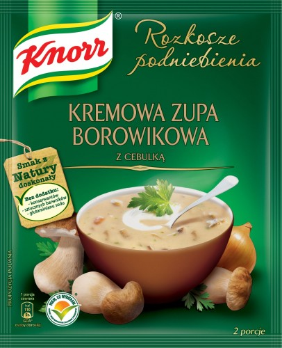 Knorr Cremesuppe mit Waldpilzen und Zwiebeln 53g