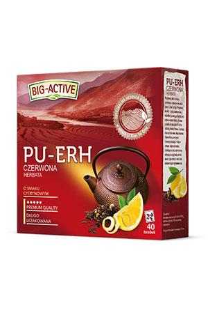 Big - Active  PU-ERH Roter Tee mit Zitronengeschmack 40 Beutel  - 2