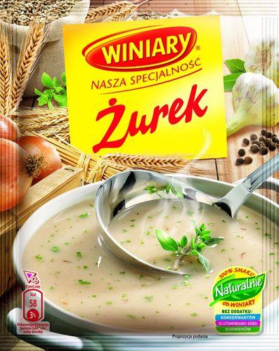 Winiary - Zurek - polnische Sauerteig Suppe