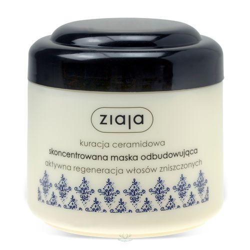 Intensive Aufbau Haarmaske für Beanspruchtes und geschädigtes Haar 200 ml von Ziaja