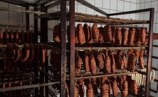 Waldfurter Metzgerwurst 600g Grobe geräucherte traditionelle Wurst im Naturdarm - 5
