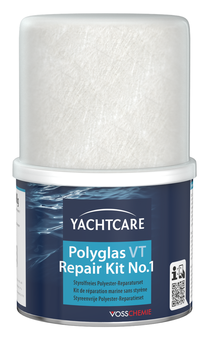 yachtcare polyglas vt repair kit reparatur set ceres webshop. Black Bedroom Furniture Sets. Home Design Ideas