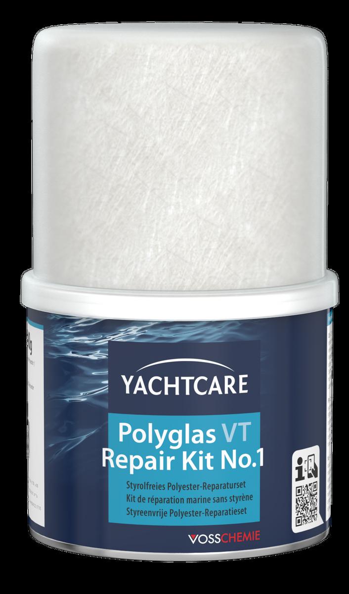 yachtcare polyglas vt repair kit reparatur set boot pflege. Black Bedroom Furniture Sets. Home Design Ideas