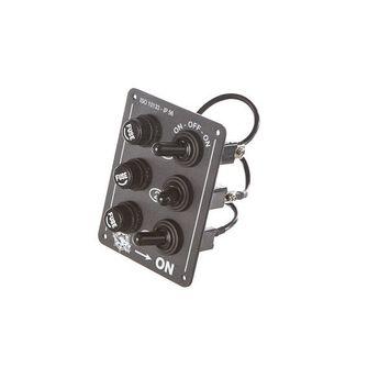 OSCULATI Schaltpaneel Schalttafel | 3 Schalter | 90 x 70 mm  – Bild 1