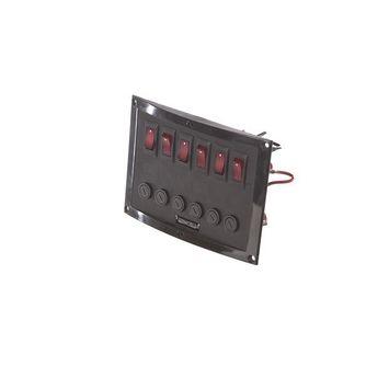 MARE MOSSO Schaltpaneel Schalttafel | 6 Schalter | 114 x 165 mm  – Bild 1