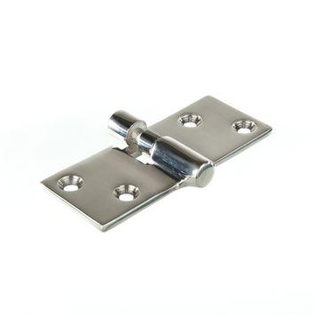 MARINOX Scharnier aushängbar | 90 x 38 mm | V4A – Bild 1