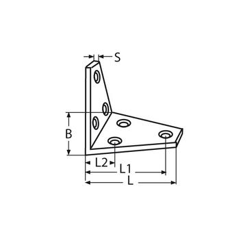 MARINOX Winkel | 41 - 80 mm | V2A – Bild 4