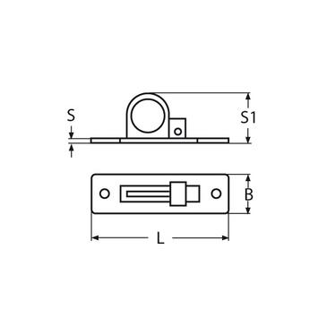MARINOX Lukengriff  Einlassgriff | V2A – Bild 4