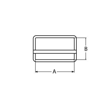 MARINOX Gurtschnalle 25 - 50 mm | V2A – Bild 4