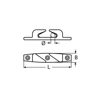 MARINOX Lippklampe | 115 - 150 mm | V4A – Bild 4
