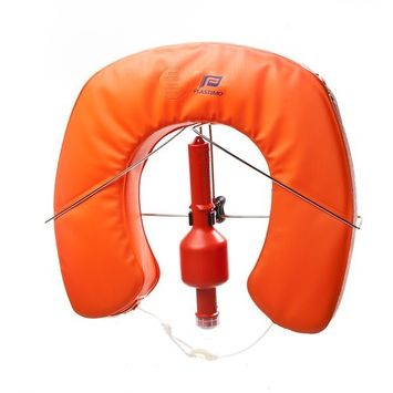 MARE MOSSO Rettungsring Set Hufeisenrettungsring Orange – Bild 1