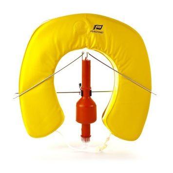 MARE MOSSO Rettungsring Set Hufeisenrettungsring Gelb – Bild 1