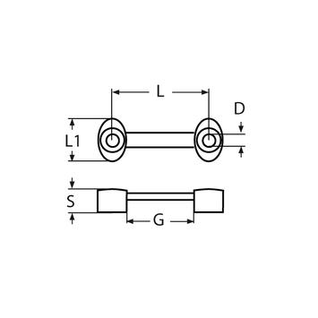 MARINOX Gurtbandbügel für Gurt 25 mm | V2A – Bild 4