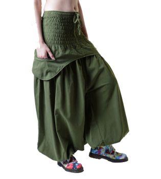 Parachute Pants Aladdin Pants Sarouel Hippie Goa Psy – Bild 2