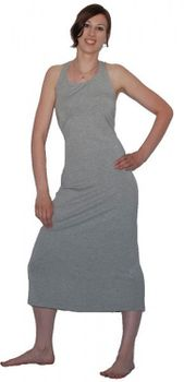 Hippie Goa Larp Trance - Comfortable Summer Dress / Beach Dress Gray