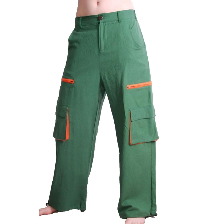 herren baggy pants hippie goa psy baumwoll hose