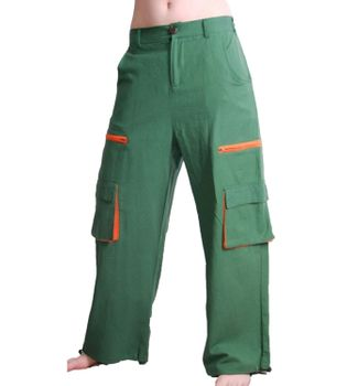 Men's Baggy Pants Hippie Goa Psy Cotton Trousers – Bild 2